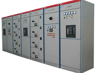 A set of GCK low voltage withdrawable switchgear.