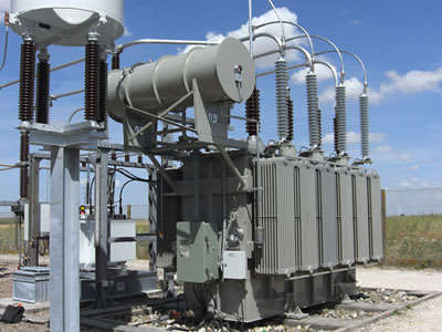 Power Transformer Change Alternating Voltage